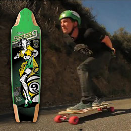 """Scoot Smith Pro Model – """"Tiffany""""   Sector 9   Longboardism  Scoot Smith Pro..."""