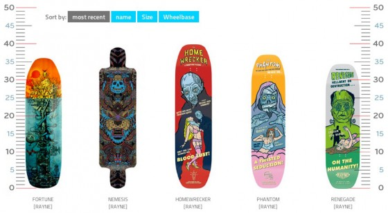 All the new Rayen deck for 2013 at loadsofdecks.com
