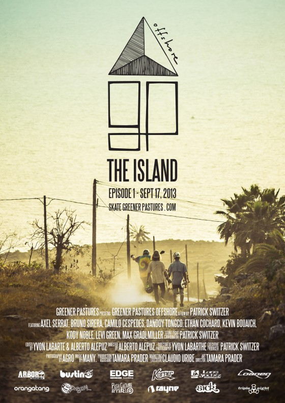 Greener-pastures-offshore-episode-1-the-island-poster